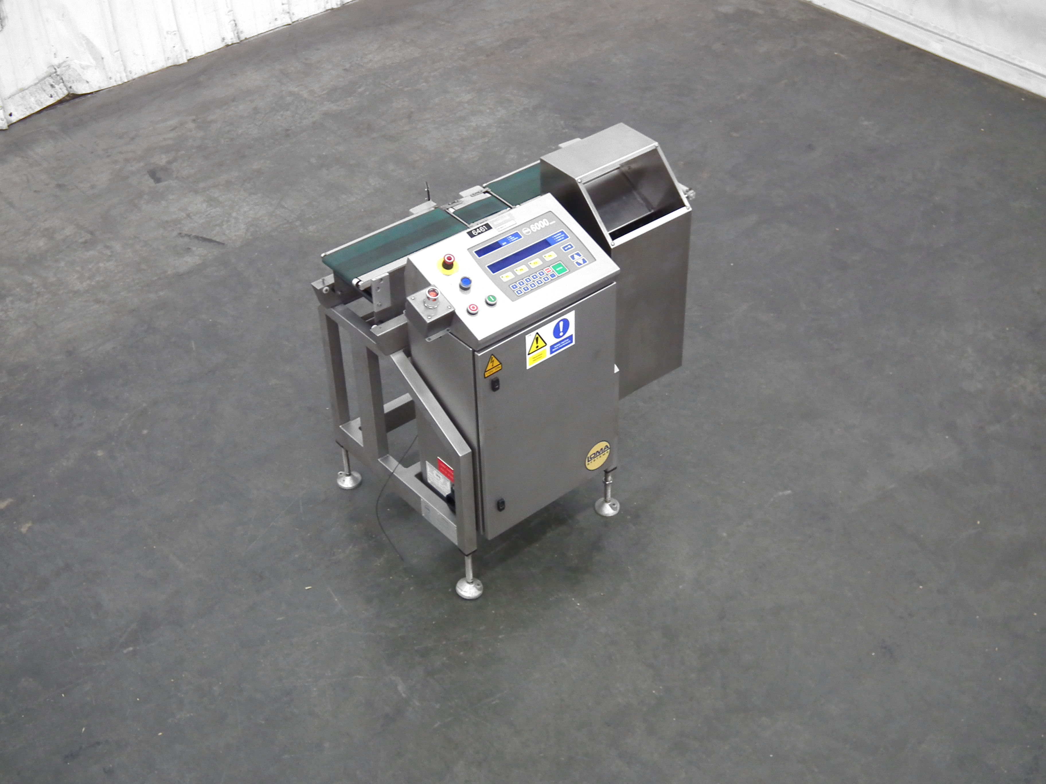 """Loma 6000 Three Belt Checkweigher 5.5"""" Wide Belt B3157 - Image 5 of 9"""