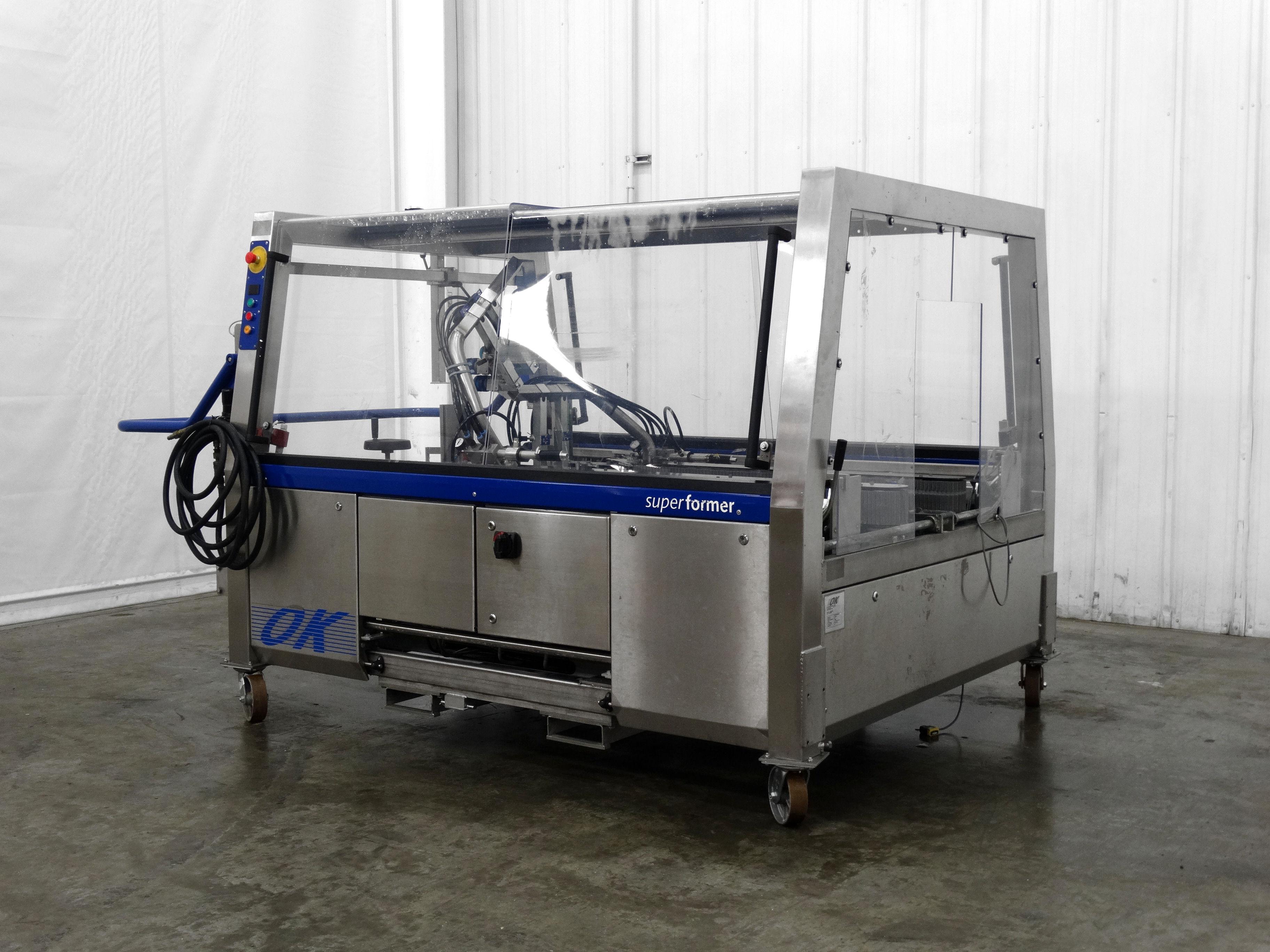 OK International Superformer 2M Case Erector B5007