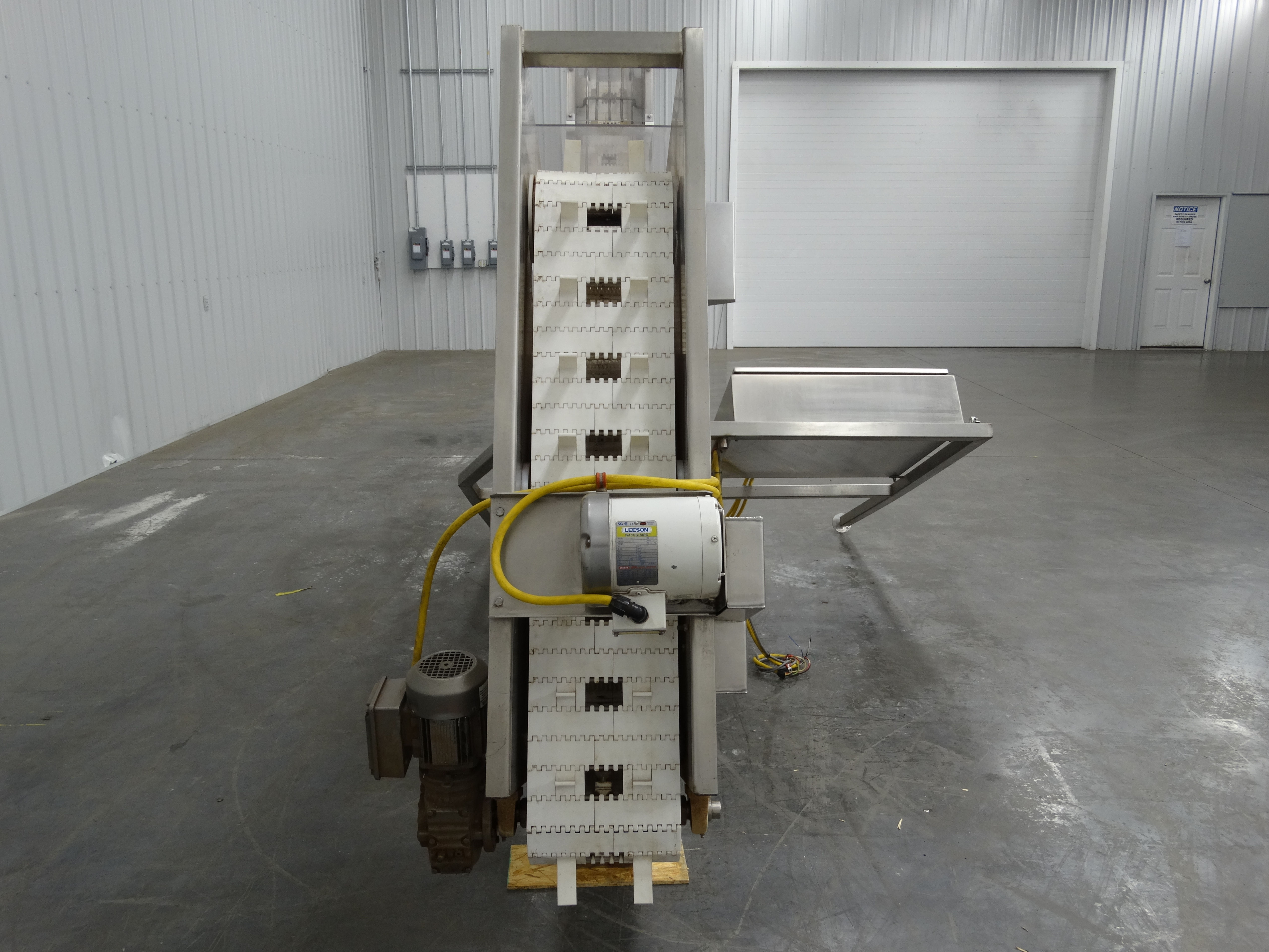 CHL Systems IIC-800-11 Cleated Incline Conveyor D2023 - Image 5 of 10