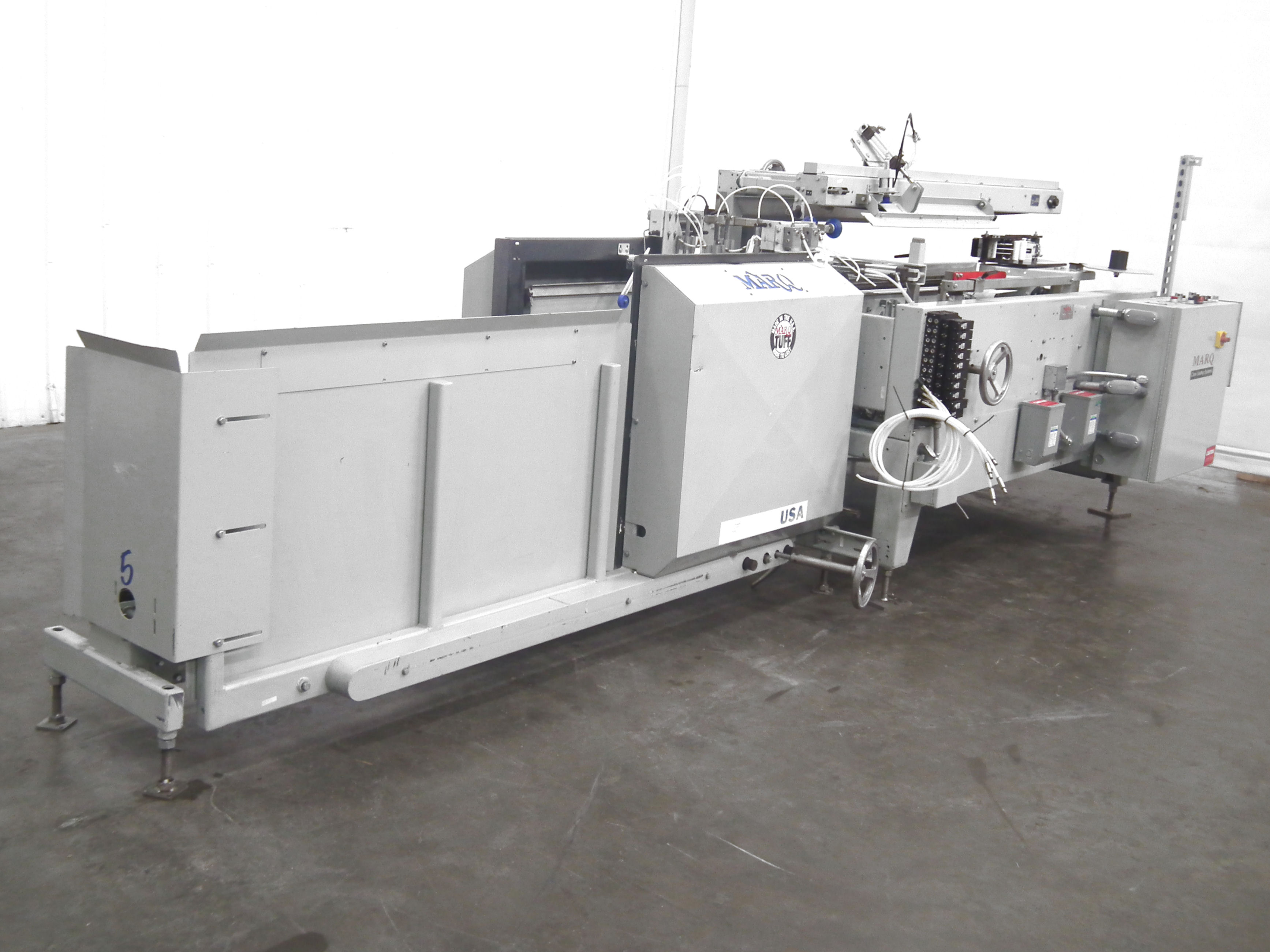 Marq Tuff HPE-NS-MF/RH/DL Bottom Tape Case Erector A9697 - Image 3 of 15