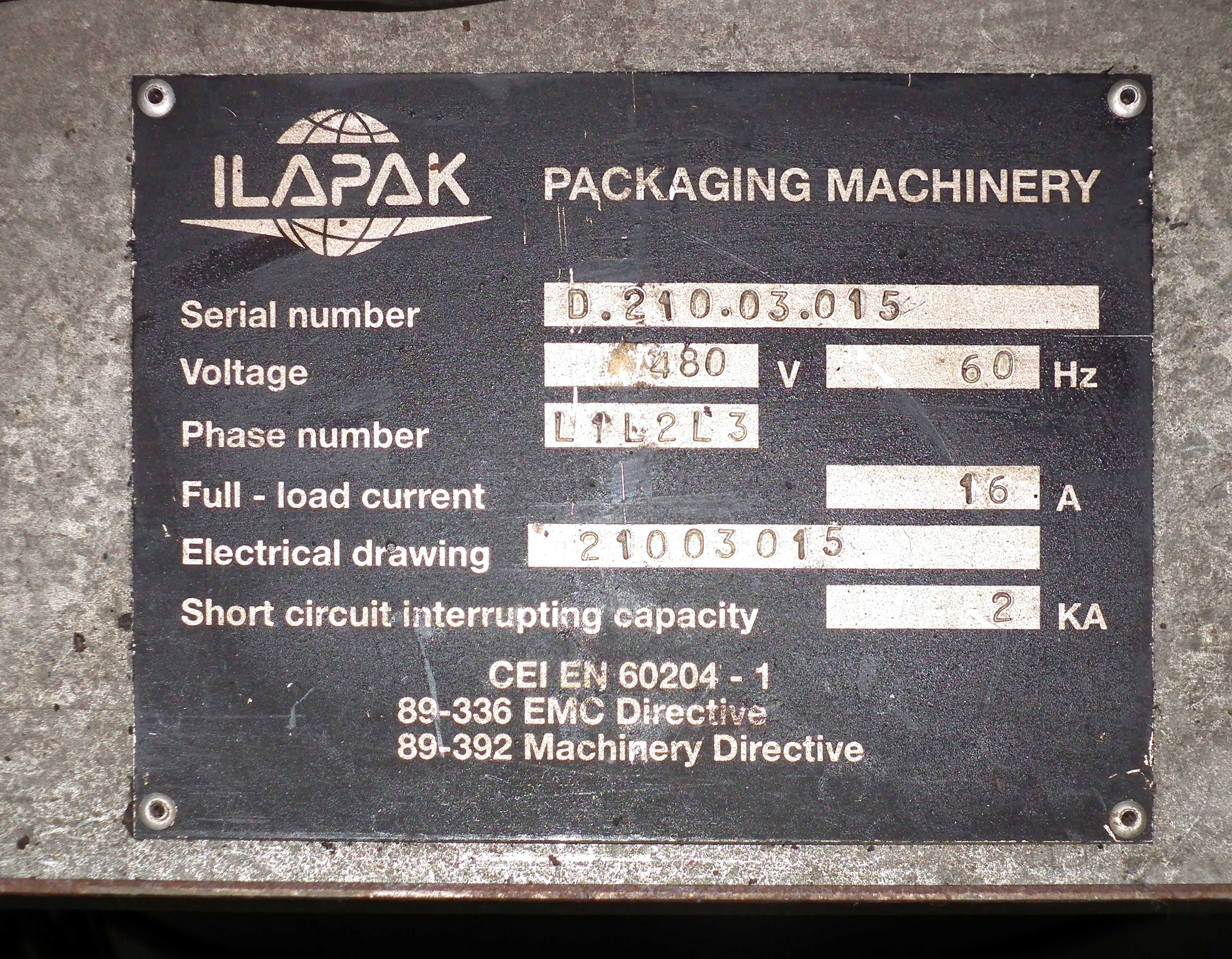 Ilapak Delta 3000 DC Wrapper B4827 - Image 13 of 13