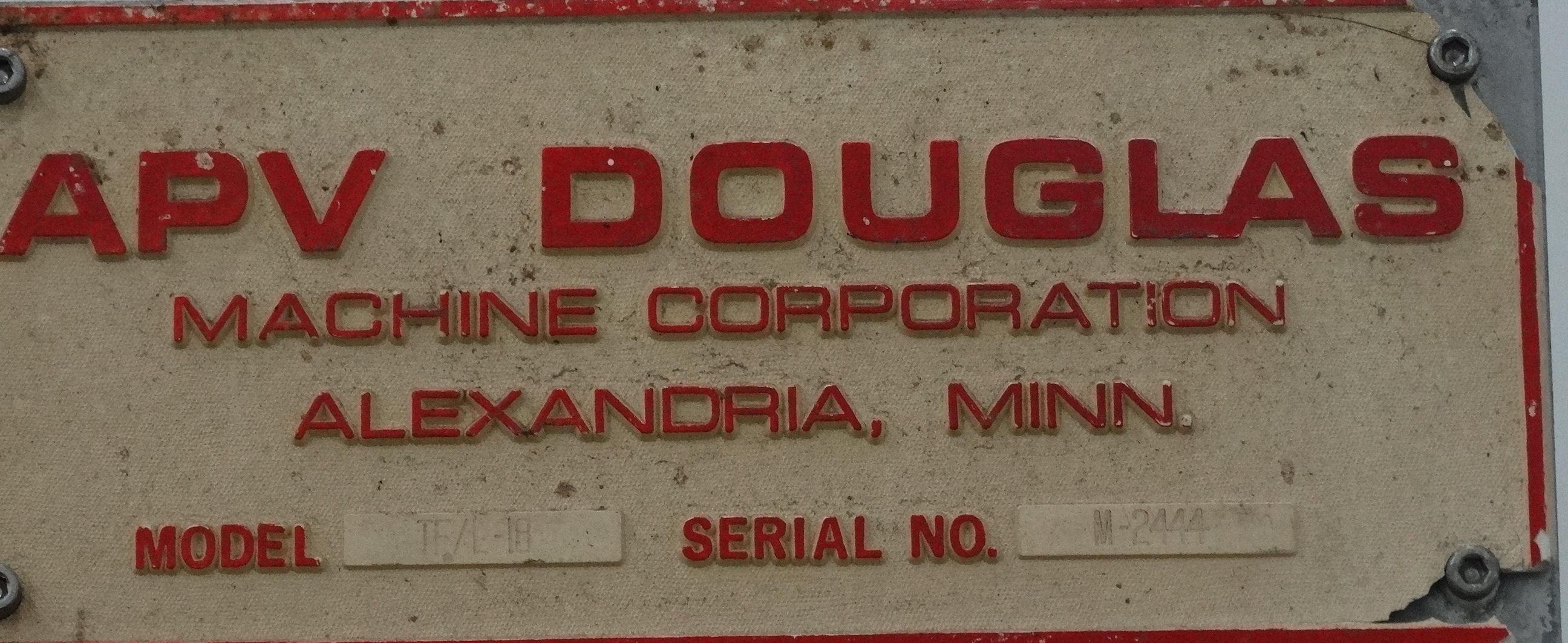 Douglas TFL-18 Case Packer B3682 - Image 11 of 11