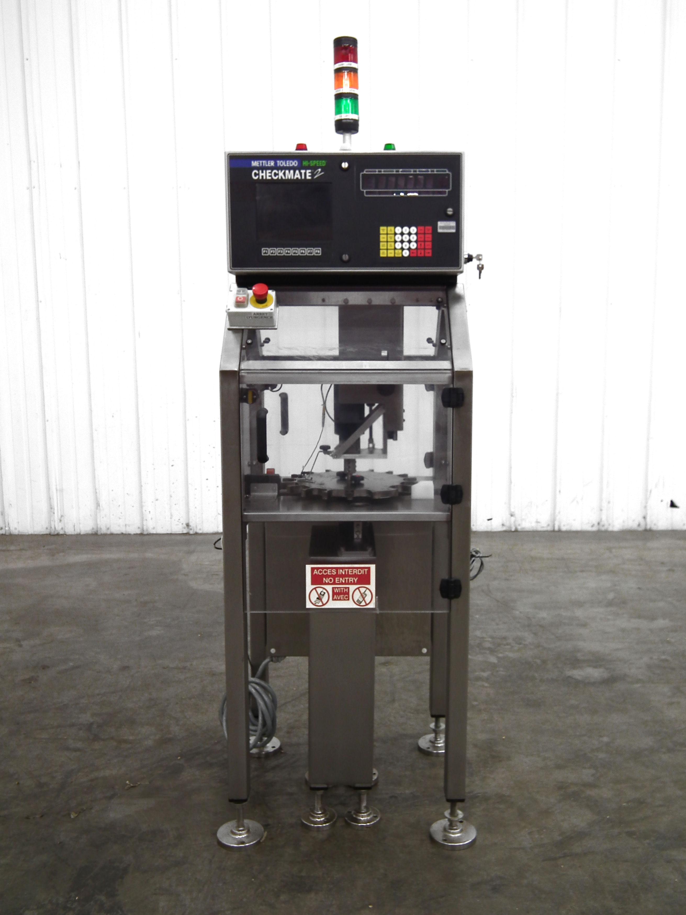 Mettler-Toledo Checkmate 2 Bottle Fill Detector B3171 - Image 2 of 10