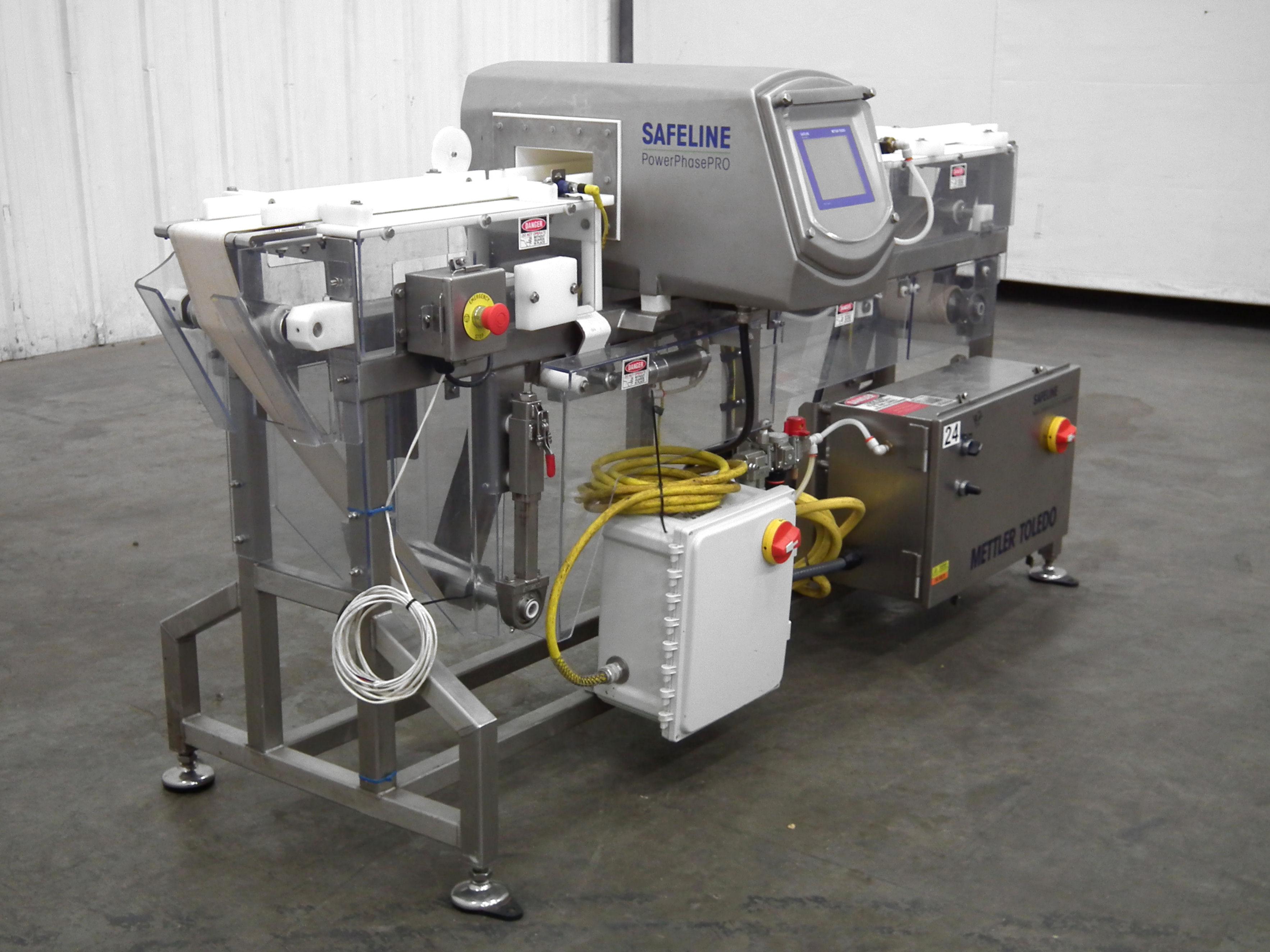 "Safeline Metal Detector Power Phase PPH 6""W x 2""H B3434"