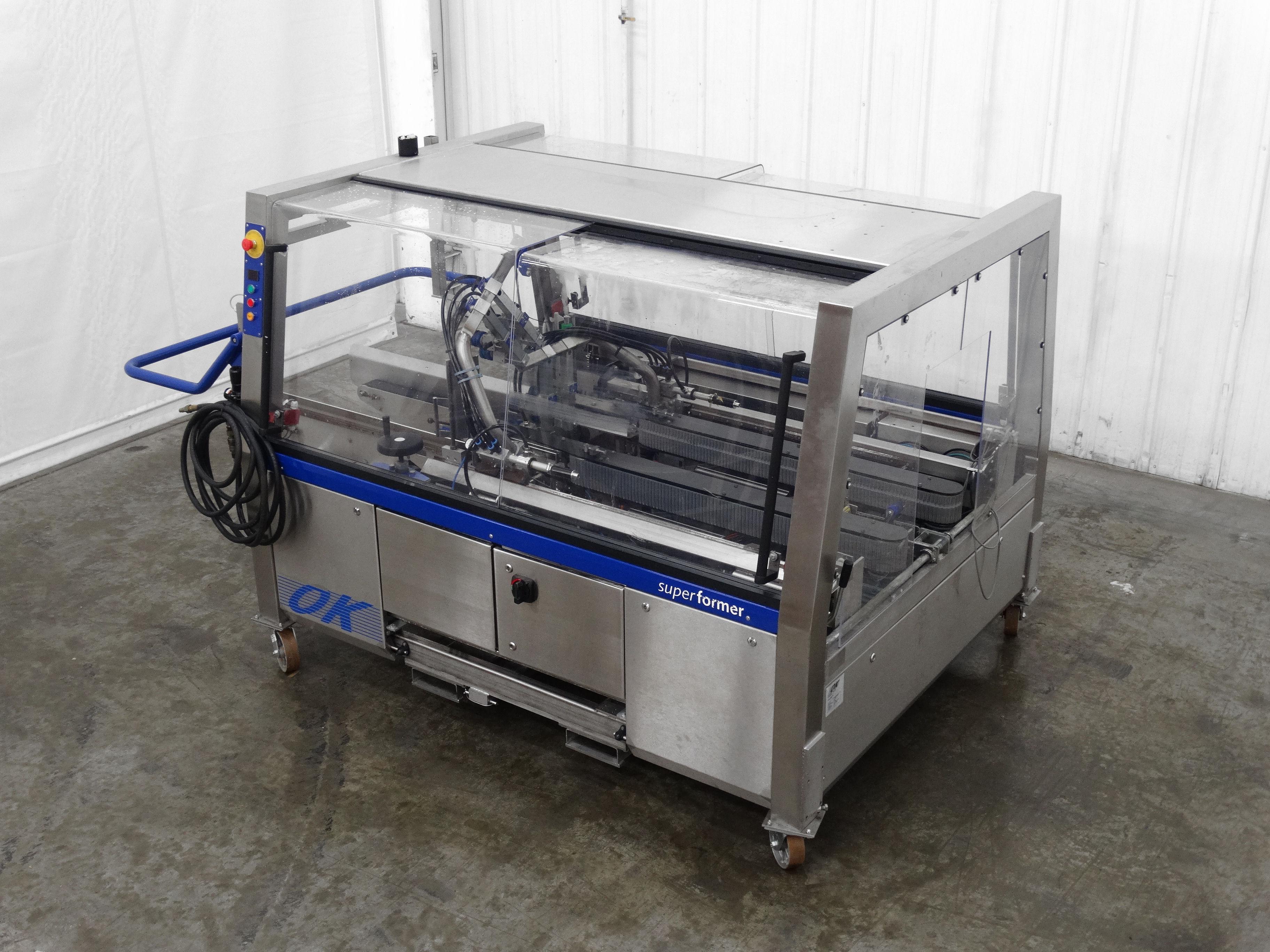 OK International Superformer 2M Case Erector B5007 - Image 5 of 16