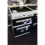 Beko EDC633W 60cm Double Oven Electric Cooker