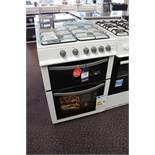 Montpellier Double Oven Gas Cooker MDG60W1 Rrp. £399.99