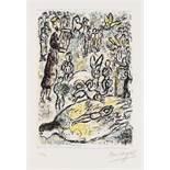 Marc Chagall (1887-1985) The Magic Flute (Mourlot 665)