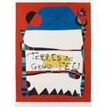 Joan Miró (1893-1983) Terres de Grand Feu Exhibition (Picazo 7)