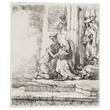 Rembrandt van Rijn (1606-1669) The Return of the Prodigal Son; and another (2)
