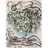 Marc Chagall (1887-1985) L'Arbre Fleuri (Mourlot 915)