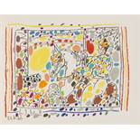 Pablo Picasso (1881-1973) Jamie Sebartes: A los Toros Mit Picasso (Bloch 1014-47; Cramer 113)