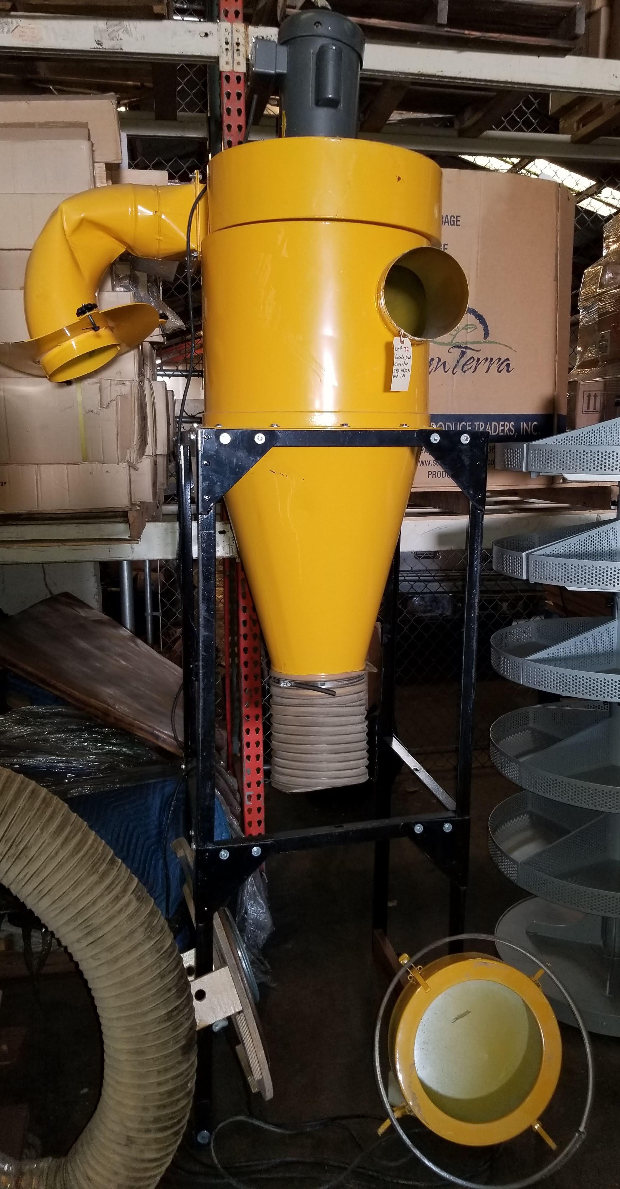 Oneida Dust Collector 3hp Super Dust Gorilla, 3hp 1ph 115/230V