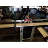 Gannomat Hinge Boring Machine, Type #271 1.5 hp, 3ph, Hinge drilling and insertion machine. Equipped