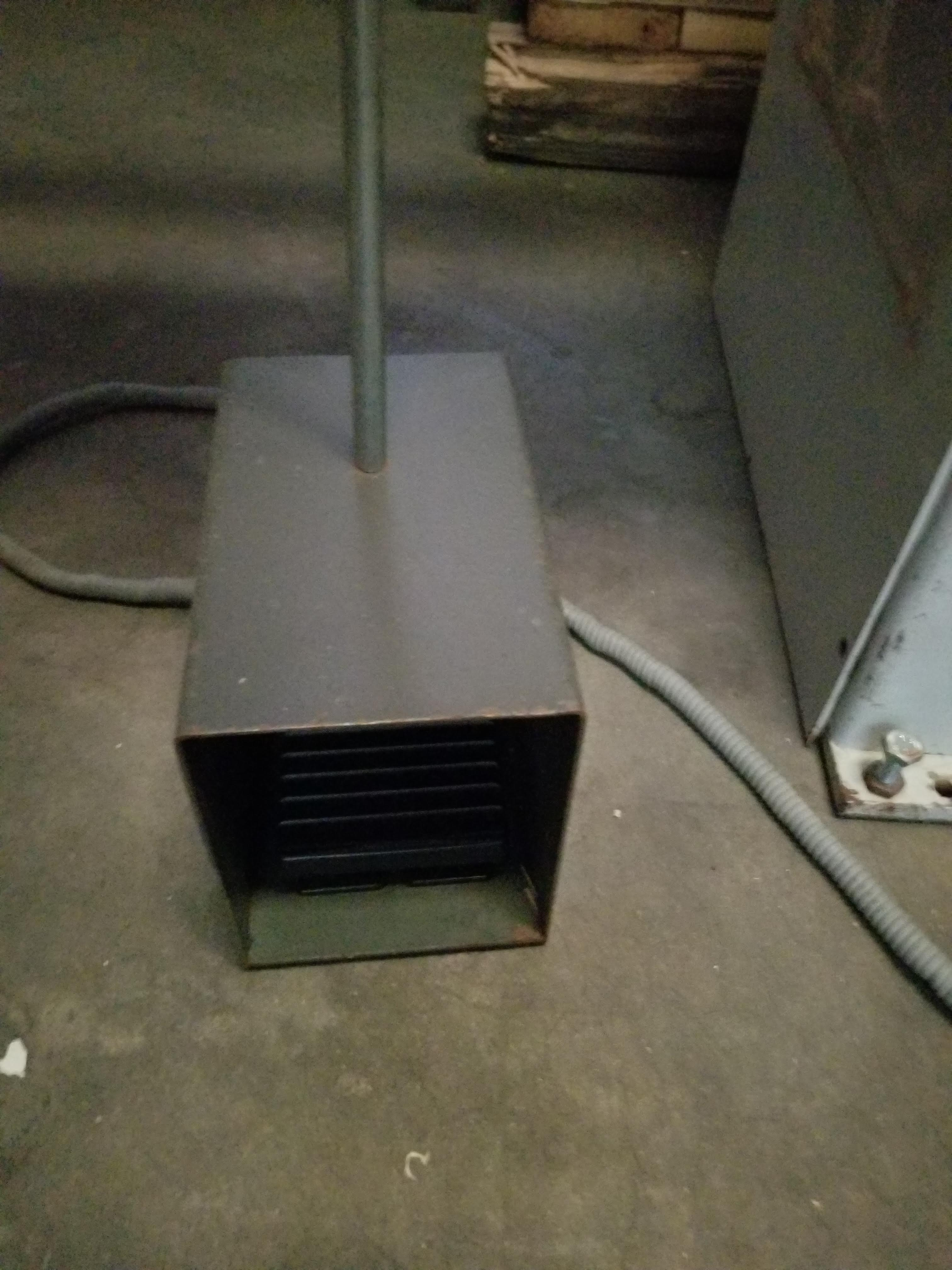 Lot 13 - Gannomat Hinge Boring Machine, Type #271 1.5 hp, 3ph, Hinge drilling and insertion machine. Equipped