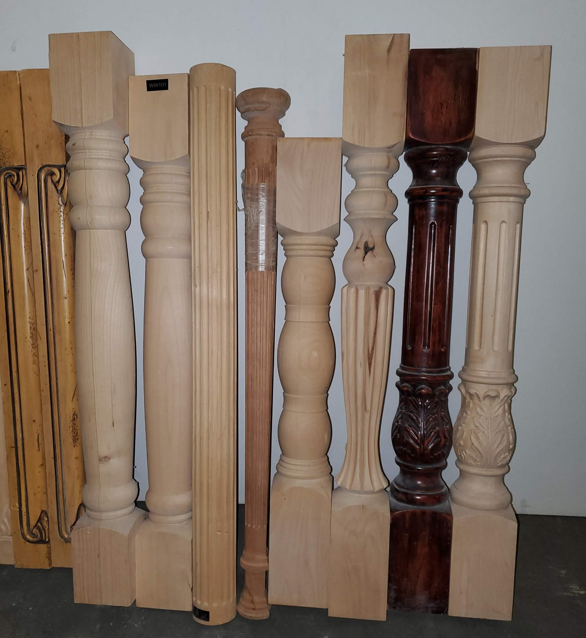 18 - Solid Fancy Hardwood Spindles - Image 3 of 6
