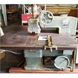 "Mattison Machine Works #404 14"" Heavy Duty Straight Line Rip Saw, 15HP MAIN MOTOR, 2HP FEED MOTOR,"