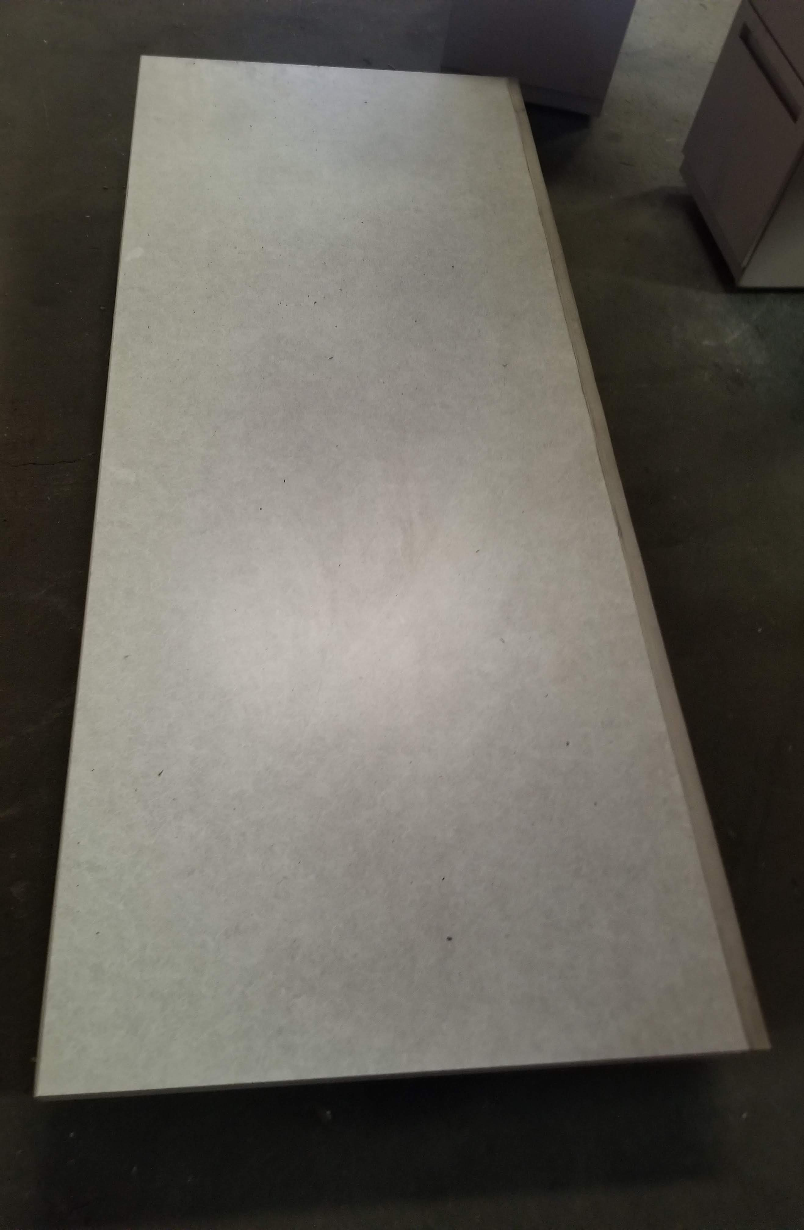 Grey Office Tables with walls & 3 - Grey Filing Cabinets - Image 6 of 7
