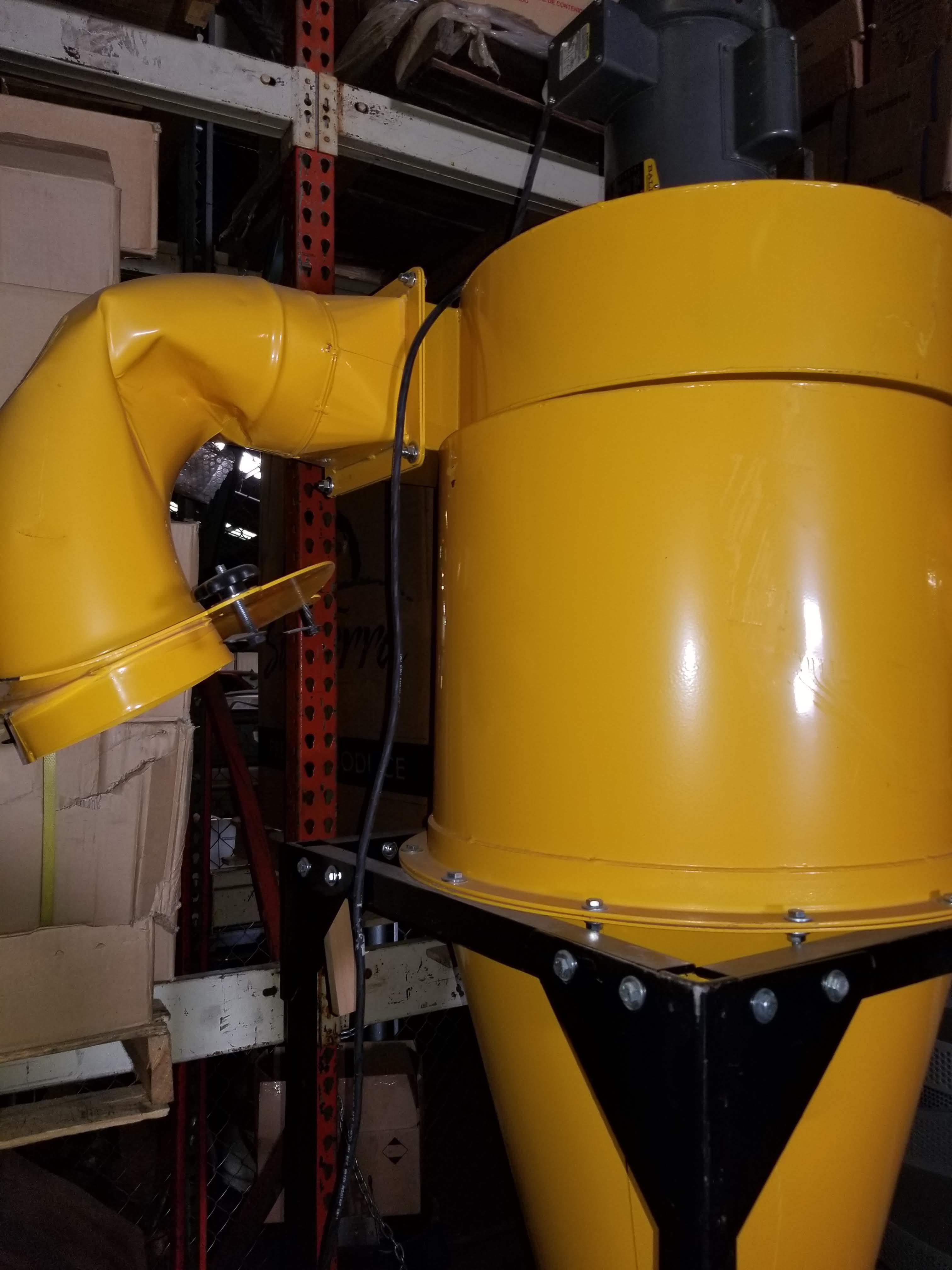 Oneida Dust Collector 3hp Super Dust Gorilla, 3hp 1ph 115/230V - Image 4 of 7