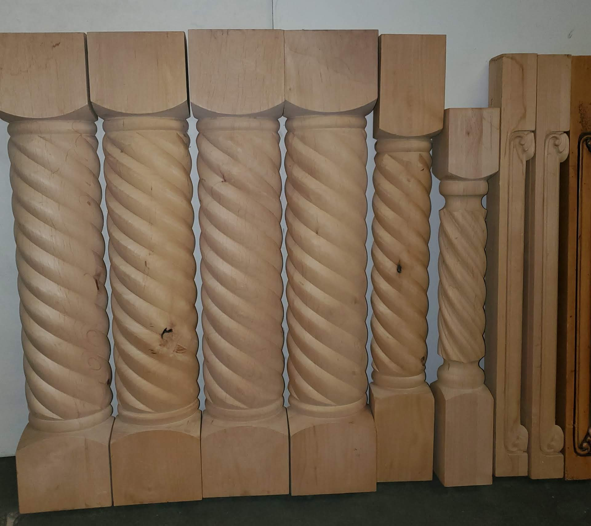 18 - Solid Fancy Hardwood Spindles - Image 2 of 6