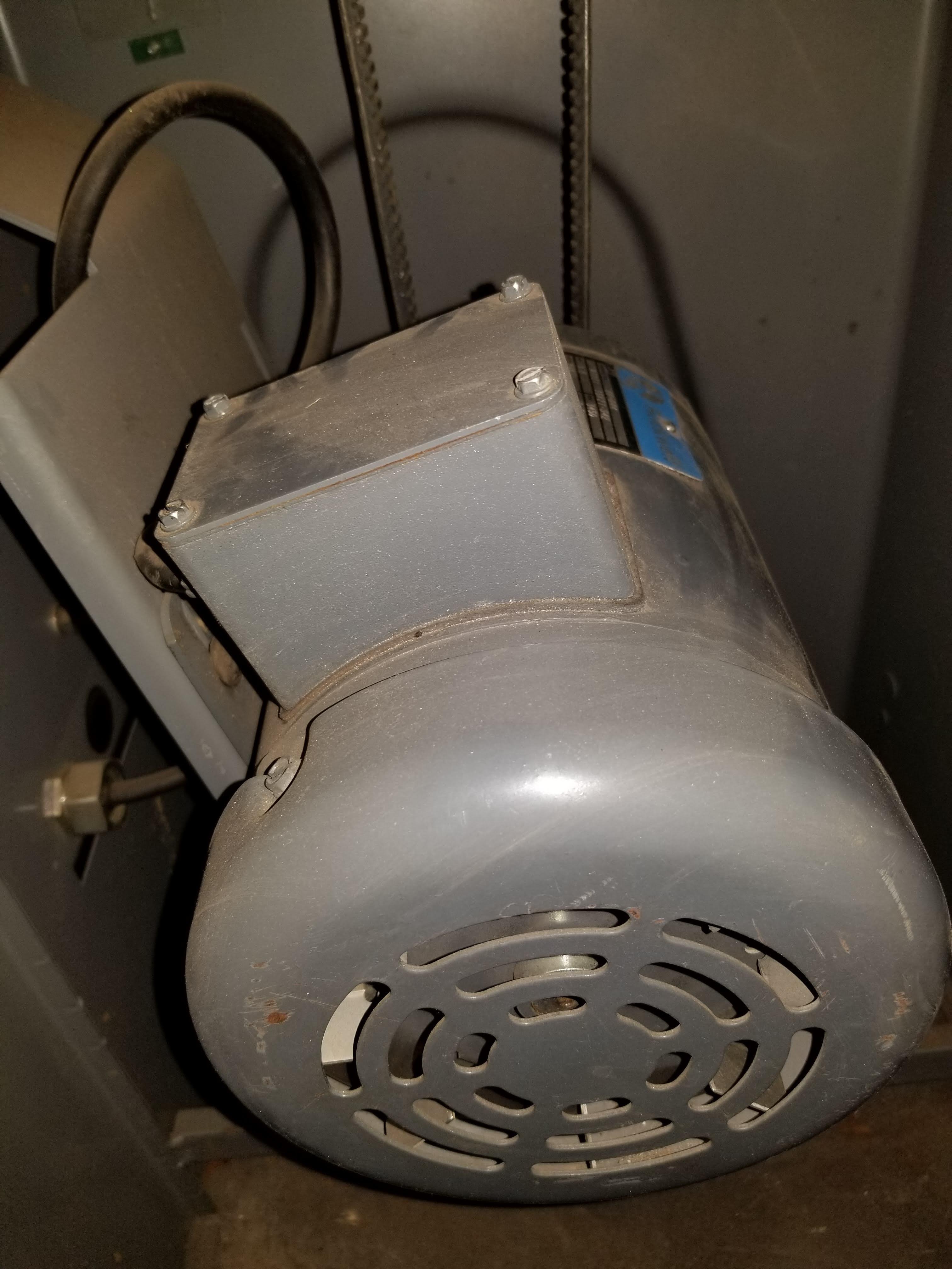 "Lot 21 - Rockwell Delta 6""x 48"" Belt + 12"" Disc Sander, Model #31-730, 1.5Hp, 208V 3ph"