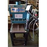 "Sunhill 13"" Wide Belt Sander, 2Hp 220V 1ph, on stand with wheels."