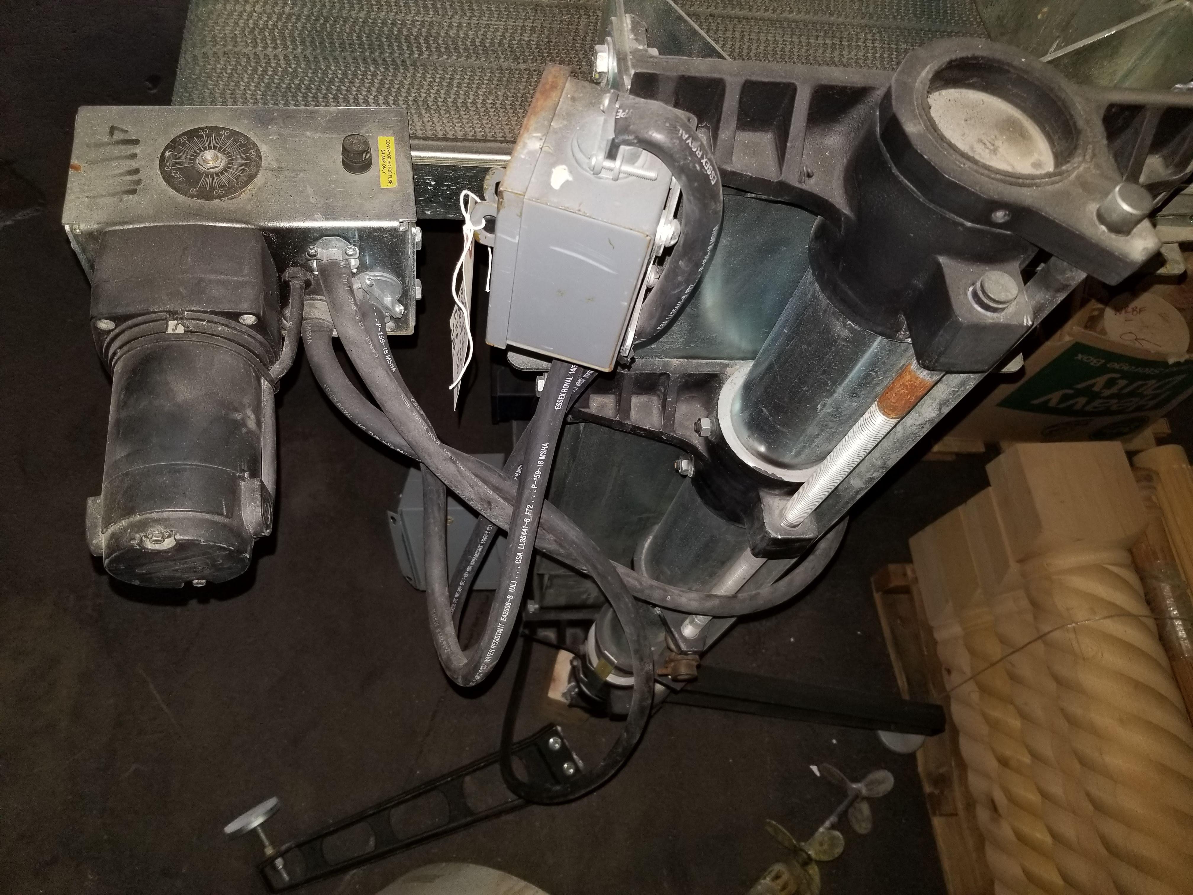 """Perormax 36"""" Wire Brush Machine Mo. #SB3653267-NB 5hp 230V 3ph No Brush - Image 3 of 5"""