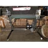 """Perormax 36"""" Wire Brush Machine Mo. #SB3653267-NB 5hp 230V 3ph No Brush"""