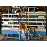 """HerSaf Panel Router Model #145 110V, 2-pneumatic hold down clamps, 120"""" x 60"""" back fence area &"""