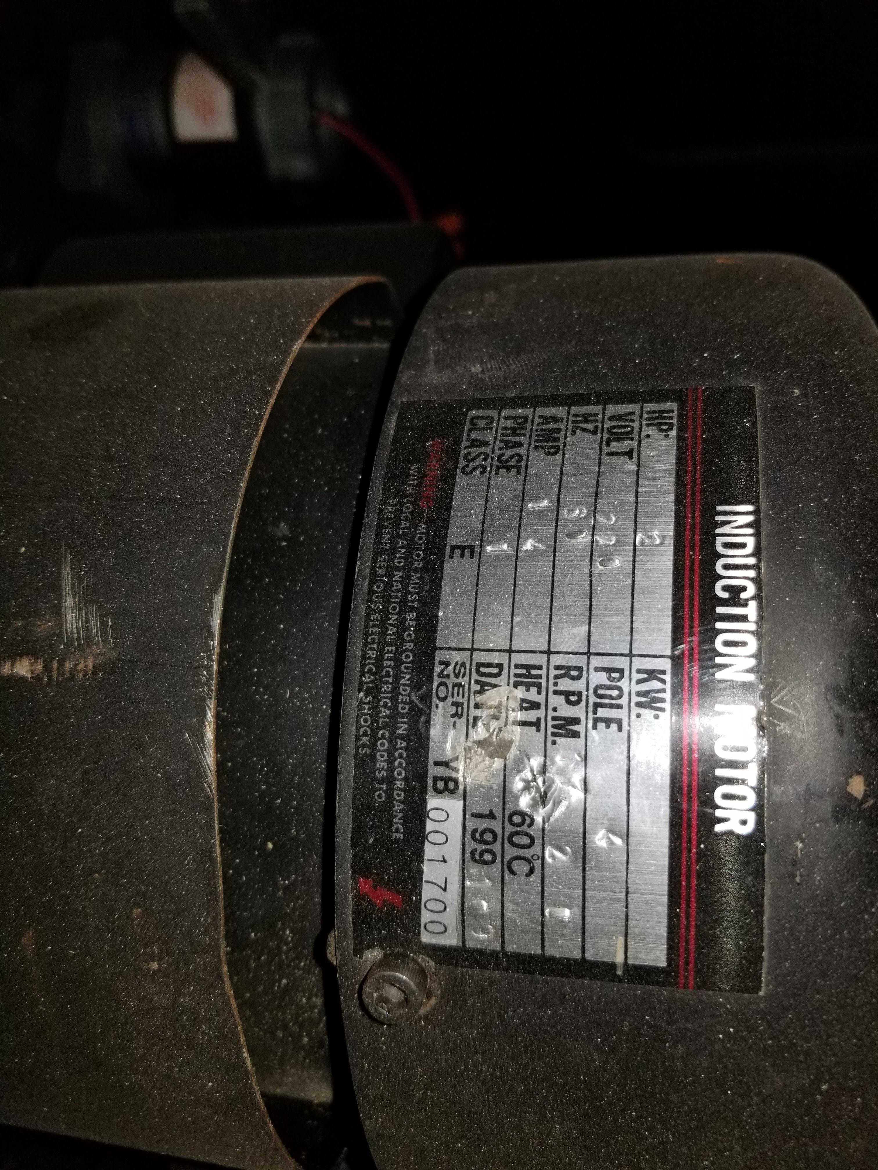 """Sunhill 13"""" Wide Belt Sander, 2Hp 220V 1ph, on stand with wheels. - Image 5 of 7"""