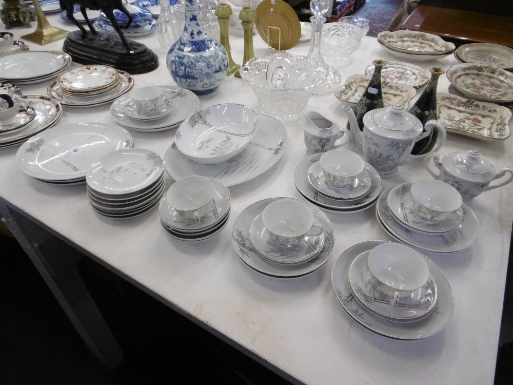 A part tea and dinner set