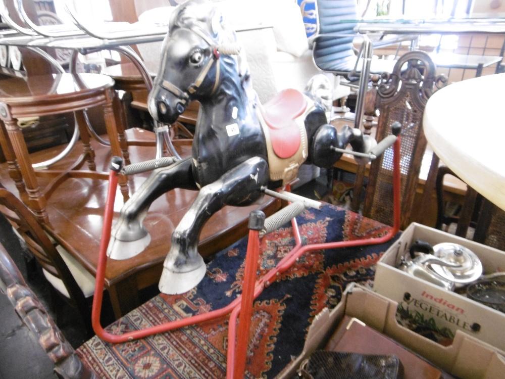 Lot 95 - A rocking horse
