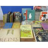 A quantity of French children's books A/F, together with English children's books to include Raggedy