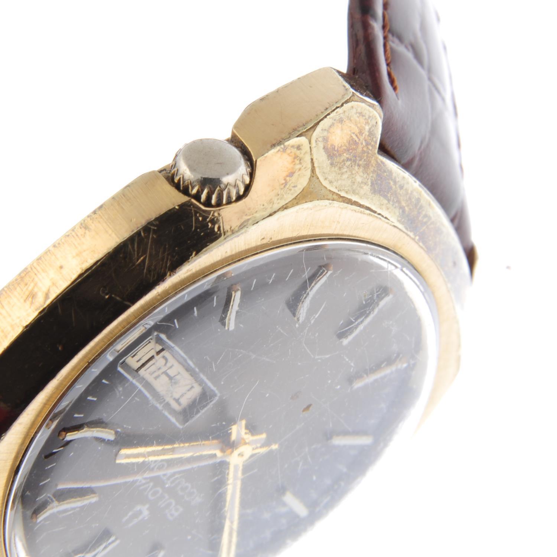 Lot 29 - BULOVA - a gentleman's Accutron wrist watch.
