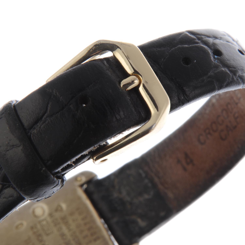 Lot 31 - CARTIER - a Must De Cartier Tank wrist watch.
