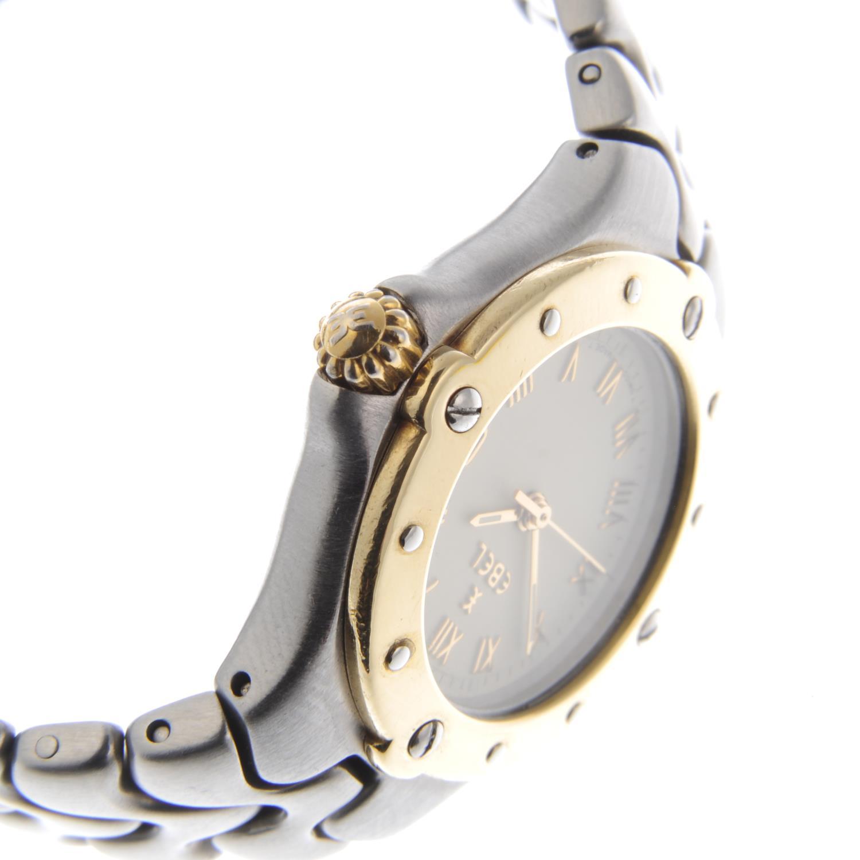 Lot 41 - EBEL - a lady's Sportswave bracelet watch.