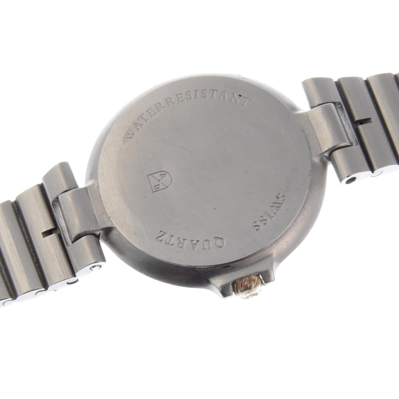 Lot 38 - DUNHILL - a Millennium bracelet watch.