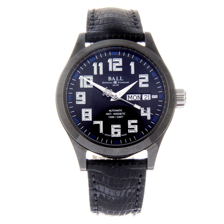 Lot 1 - BALL - a gentleman's Engineer Master II DLC wrist watch.