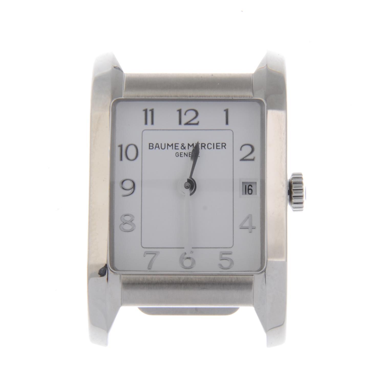 Lot 10 - BAUME & MERCIER - a lady's Linea bracelet watch.