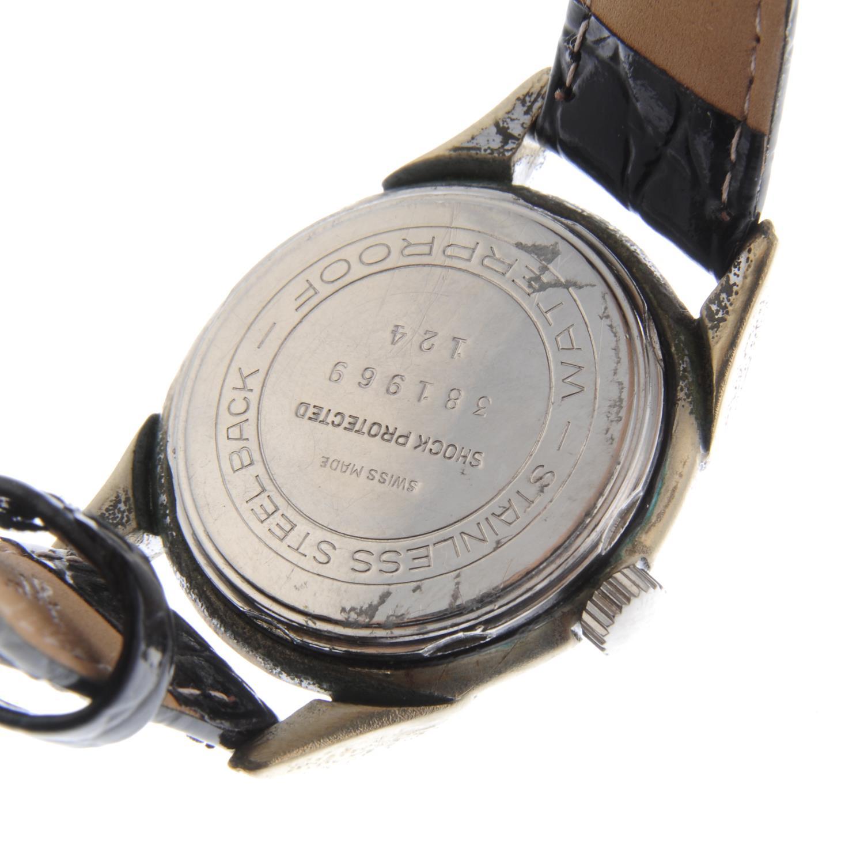 Lot 18 - BREITLING - a gentleman's wrist watch.