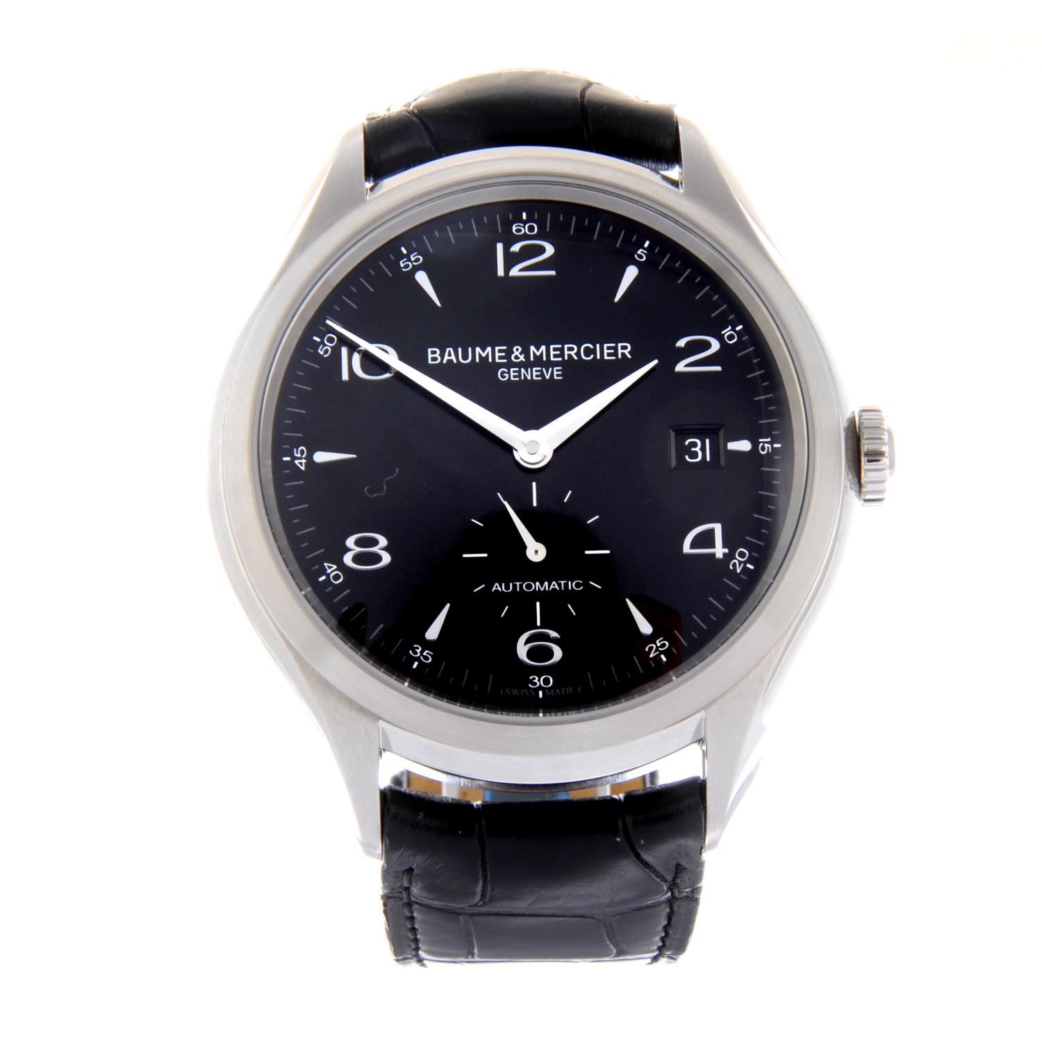 Lot 7 - BAUME & MERCIER - a gentleman's Clifton wrist watch.