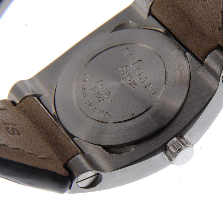 Lot 21 - BULGARI - a lady's Ergon wrist watch.