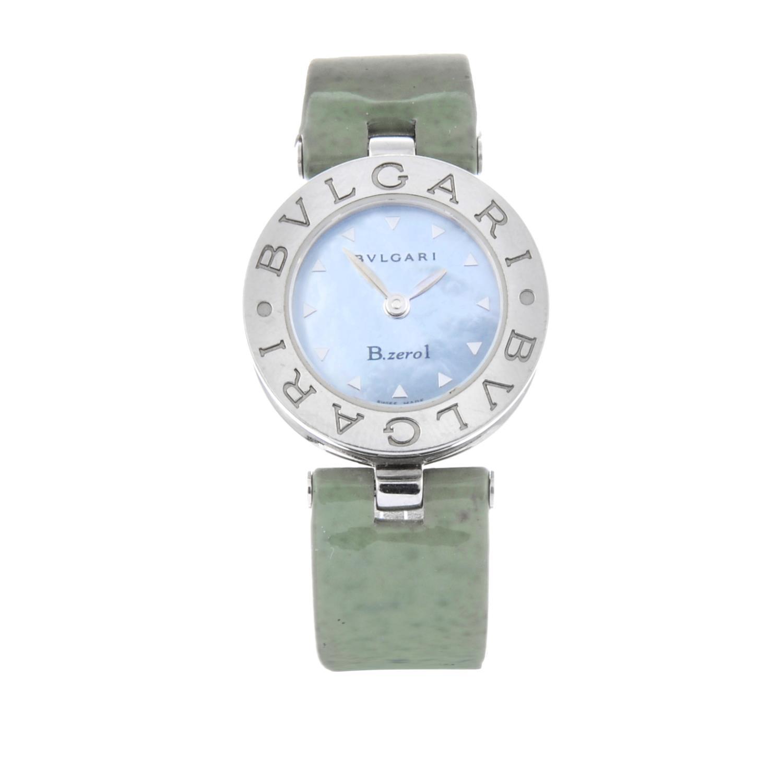 Lot 22 - BULGARI - a lady's B.zero1 wrist watch.