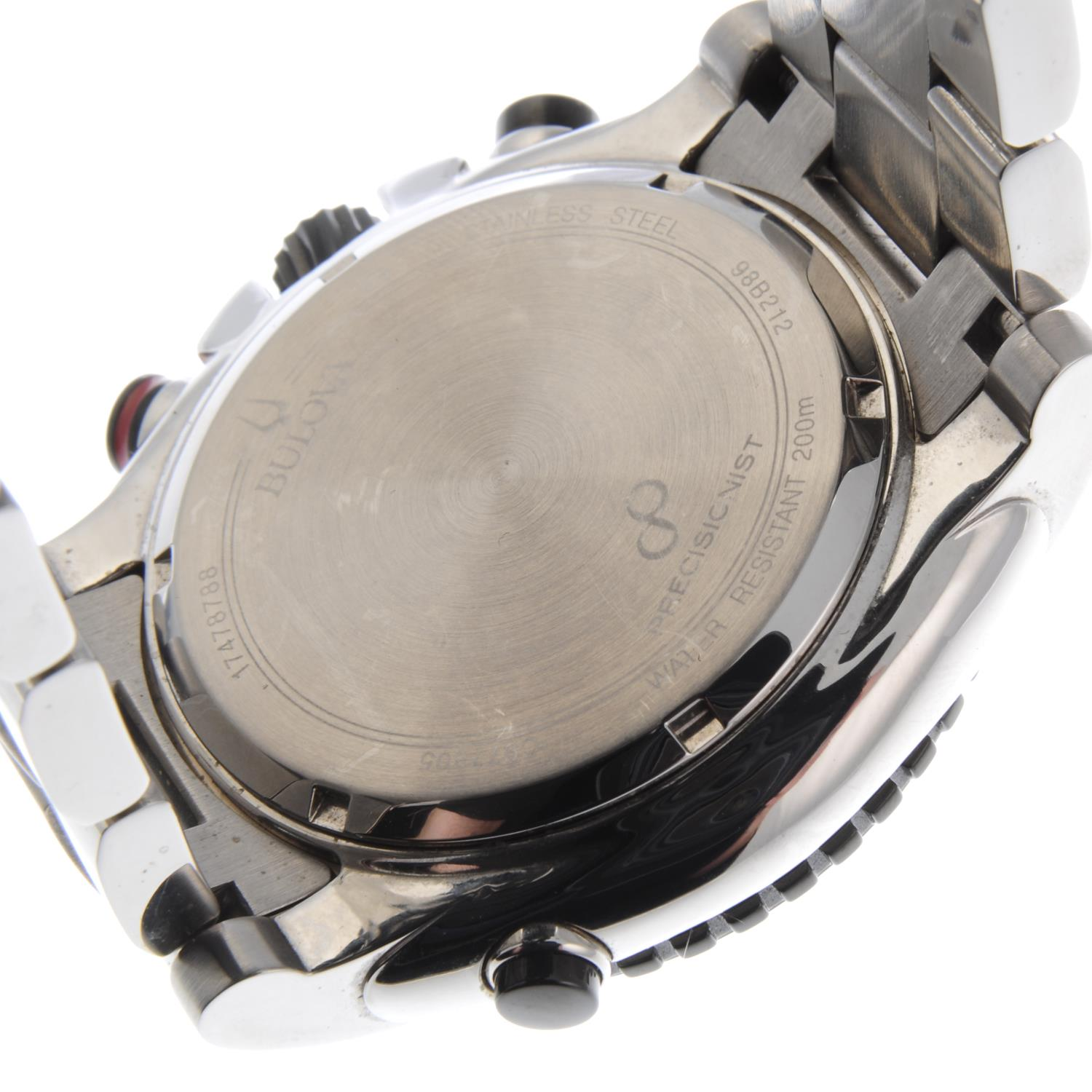 Lot 30 - BULOVA - a gentleman's Precisionist chronograph bracelet watch.