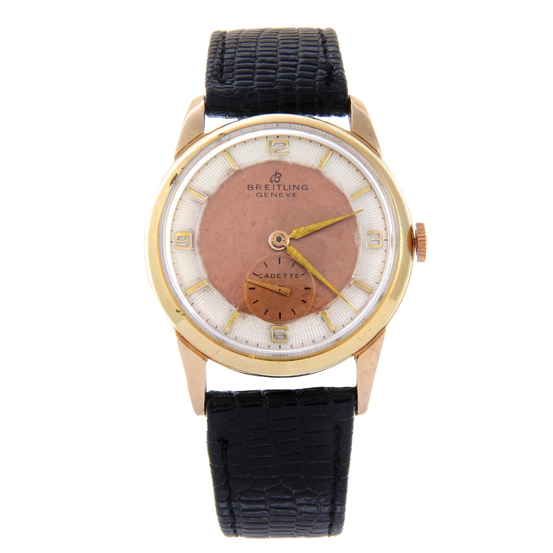 Lot 19 - BREITLING - a gentleman's Cadette wrist watch.
