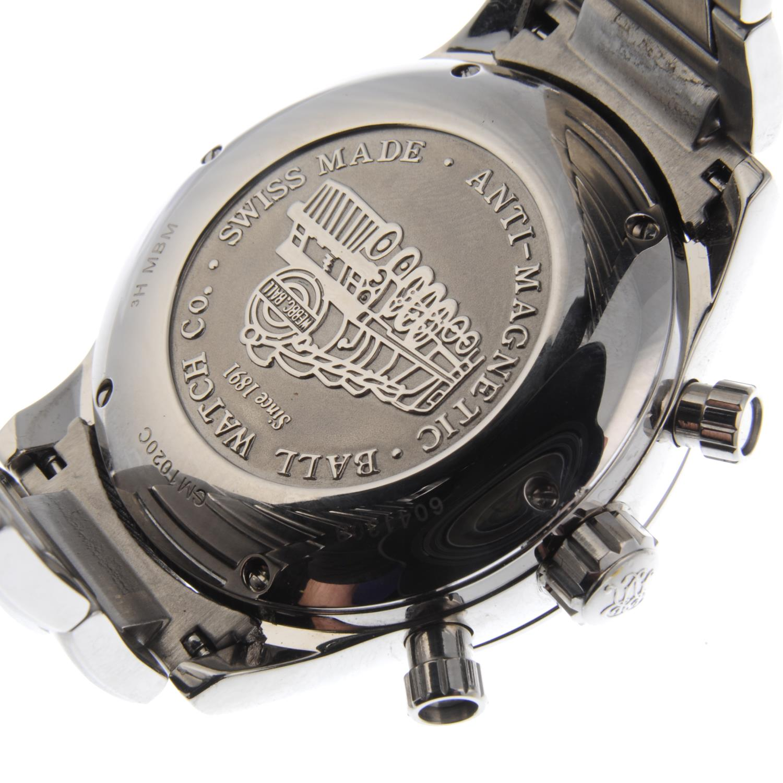 Lot 2 - BALL - a gentleman's Engineer Master II Telemeter chronograph bracelet watch.