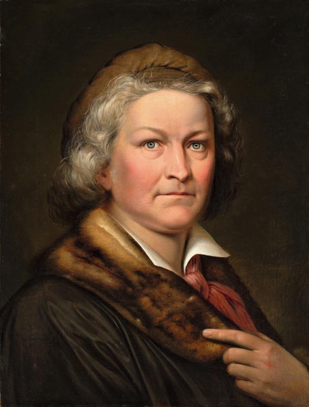 Lot 119 - Eduard Magnus (1799 – Berlin – 1872)BERTEL THORVALDSEN. Um 1828Öl auf Leinwand.  60,5x46cm ( 23?