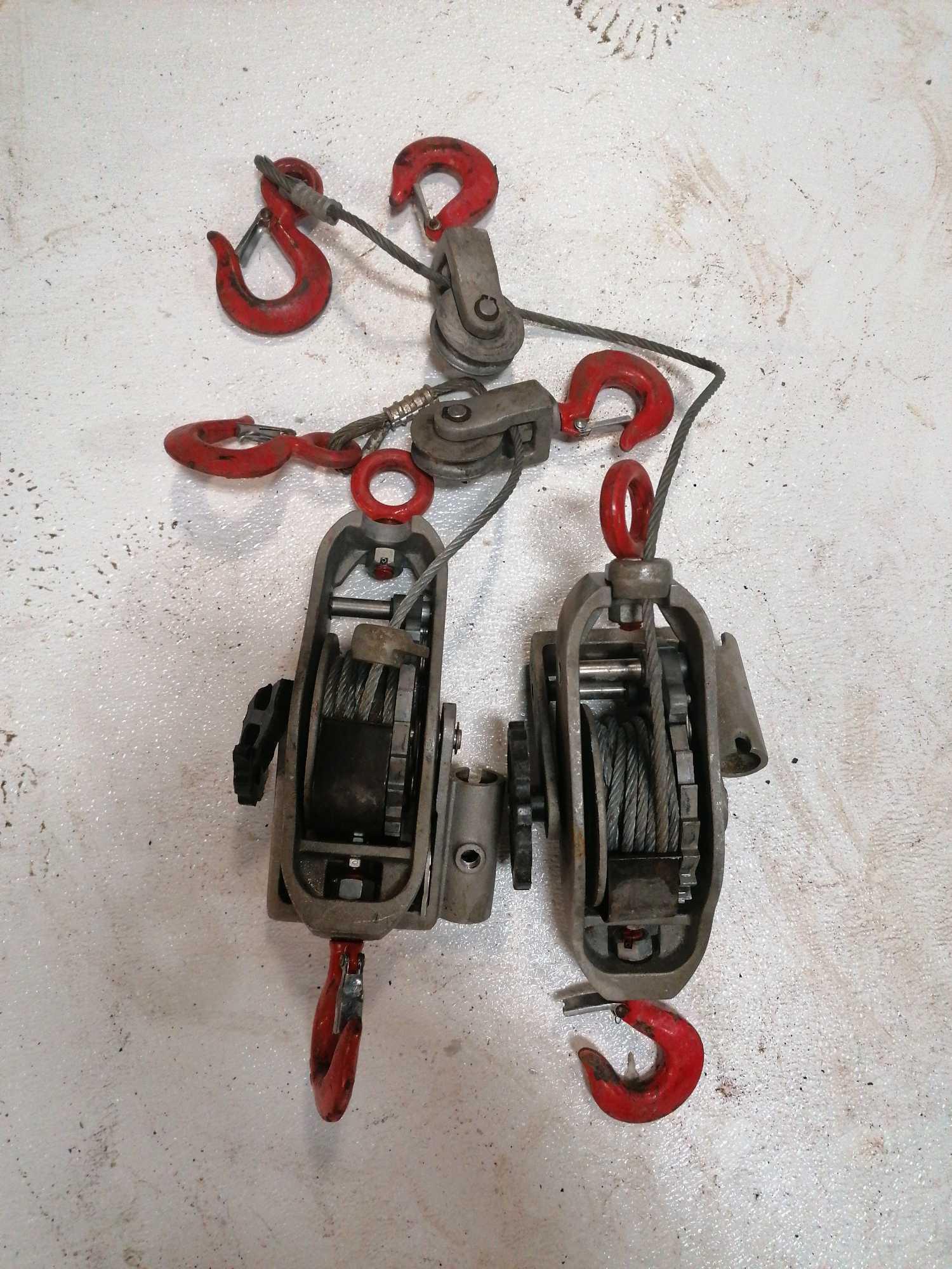 Lot 38 - (2) Cable Come Alongs
