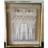 Jane Dew Enbroidery 'Catherdral 1968'