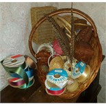 Flower Arranging Baskets Approx 15 Items Plus Other Materials